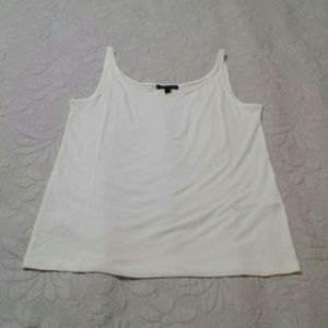 Eileen Fisher Women's White Tank Top
